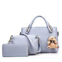 Набор сумок ZEST (3 предмета+медвежонок)